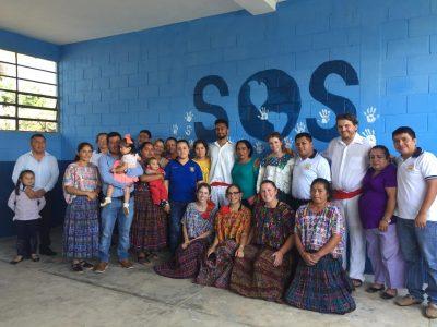 Volunteers at Las Arrugas